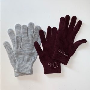 🌸2/$30🌸 H&M Bundle of Two Pairs of Gloves